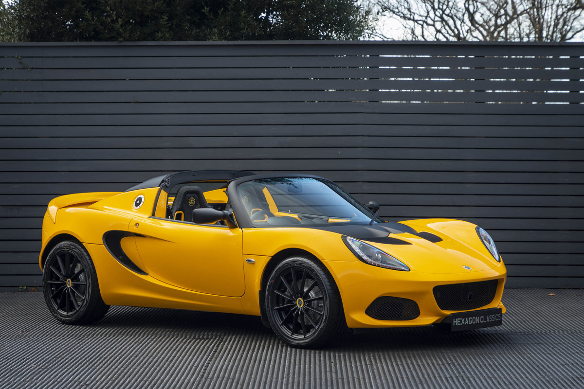 2020 YELLOW PAINTWORK WITH BLACK ALCANTARA INTERIOR For Sale (picture 1 of 24)