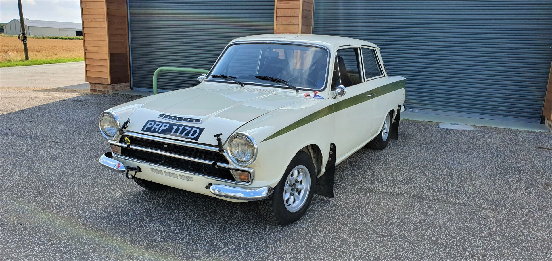 1966 Mk1 Lotus Cortina, MSA Logbook, Endurance Spec Rally Car For Sale (picture 1 of 6)