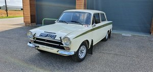 1966 Mk1 Lotus Cortina, MSA Logbook, Endurance Spec Rally Car For Sale