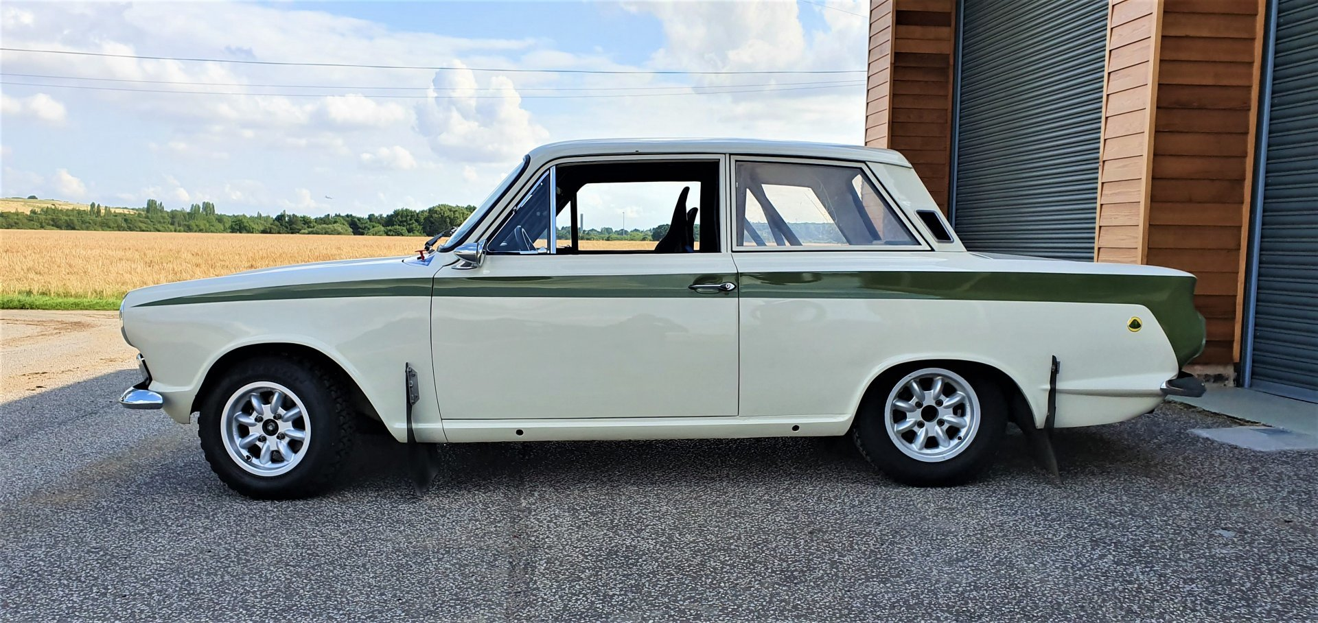 1966 Mk1 Lotus Cortina, MSA Logbook, Endurance Spec Rally Car For Sale (picture 2 of 6)