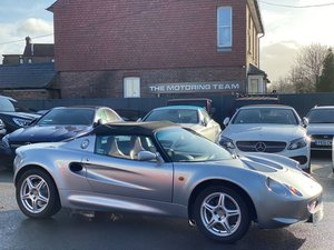 LOTUS ELISE 1.8 S1 ROADSTER - 1998/S + LOW MILEAGE 34K For Sale