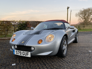 1998 Lotus Elise S1 Spider stunning For Sale
