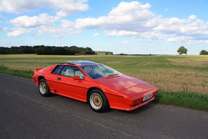 Lotus Esprit Turbo, 1986. Stunning example in Calypso Red. For Sale