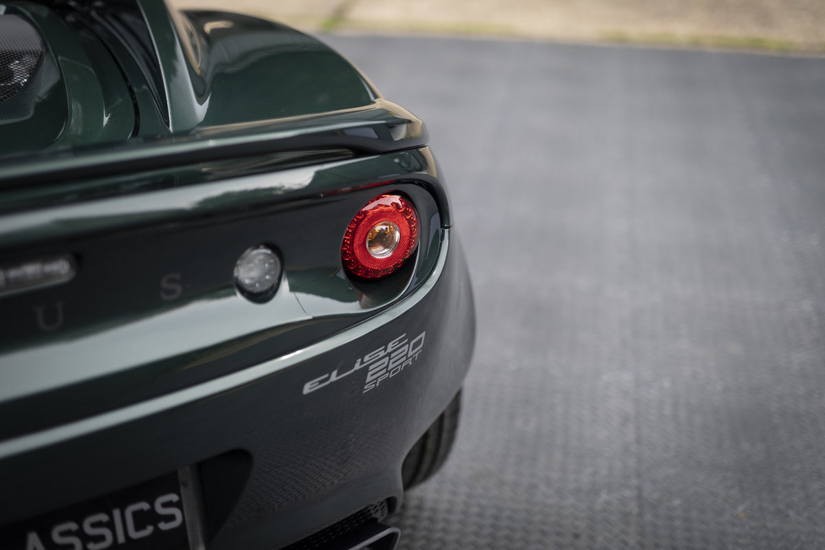 2019 LOTUS ELISE 220 SPORT  (NEW) SOLD (picture 19 of 24)