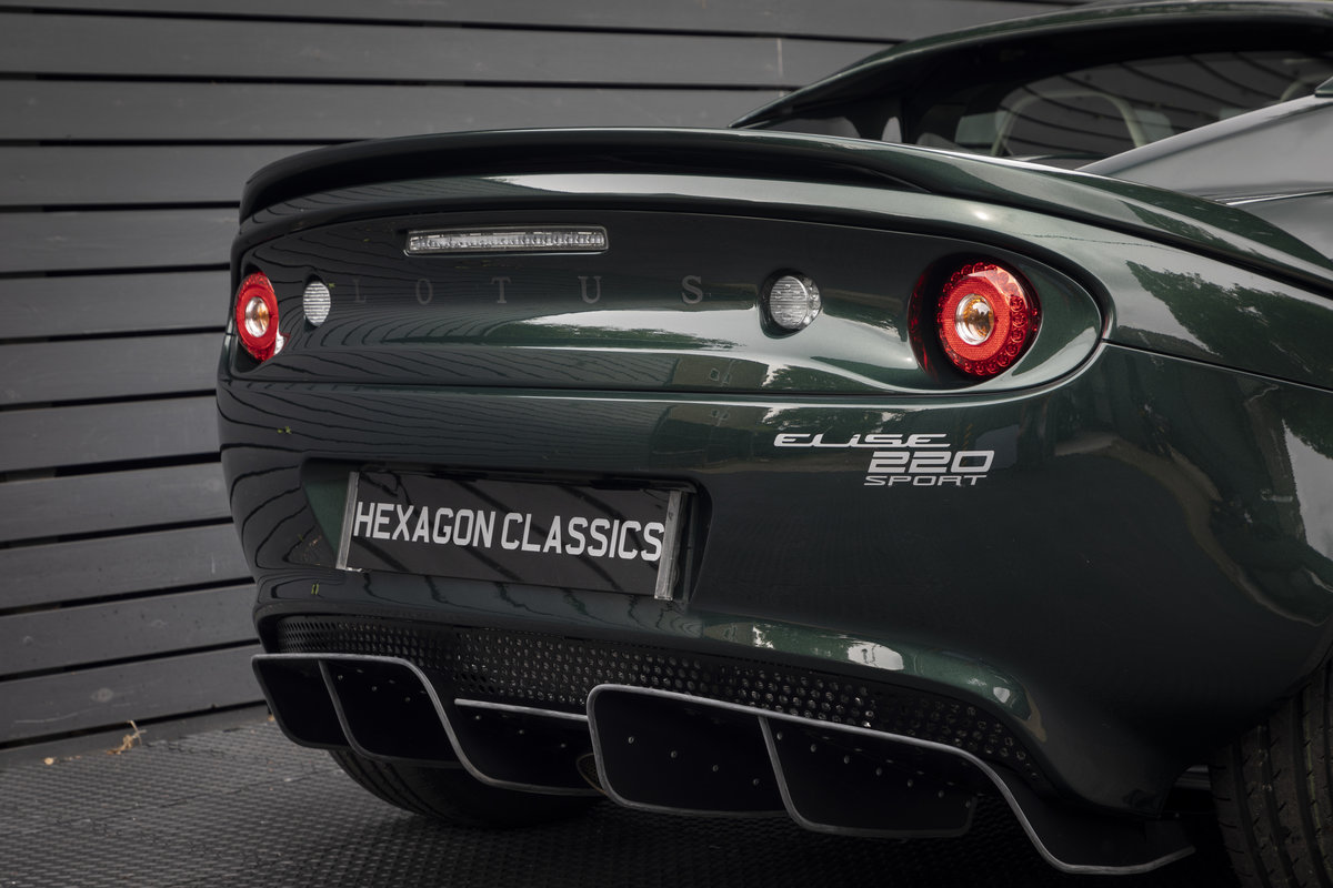 2019 LOTUS ELISE 220 SPORT  (NEW) SOLD (picture 24 of 24)