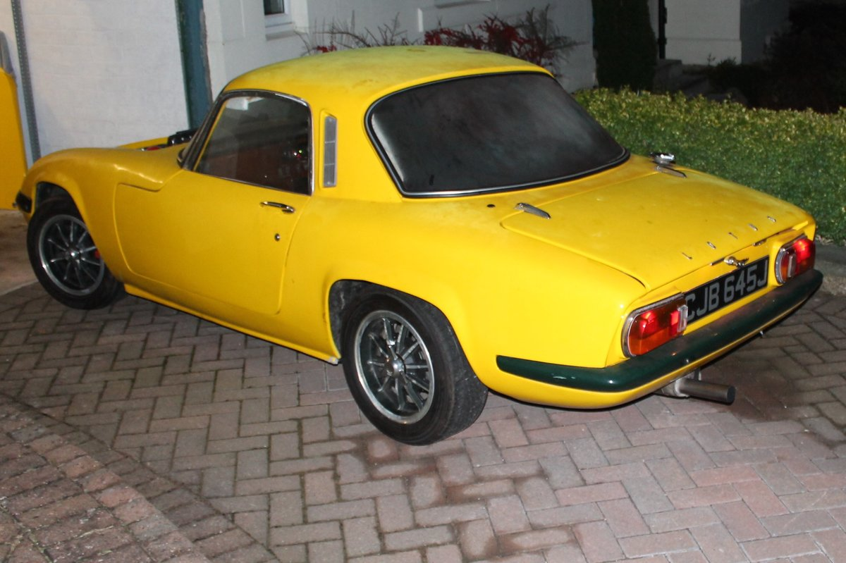 1971 Elan Sprint PROJECT SOLD (picture 2 of 6)