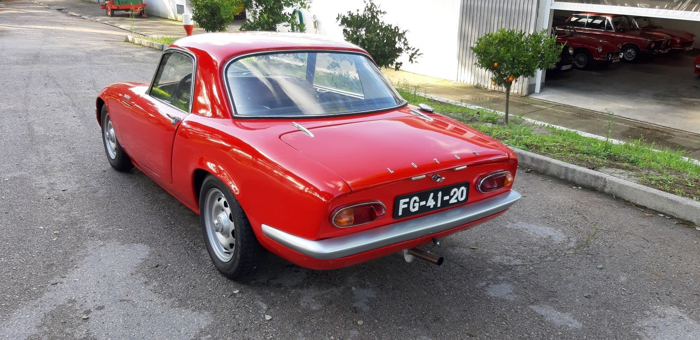 1966 Lotus Elan S3 Coupê For Sale (picture 2 of 6)