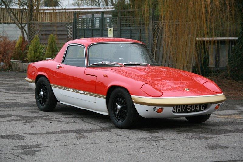 1969 Lotus Elan S3 FHC Deposit taken! SOLD (picture 1 of 6)