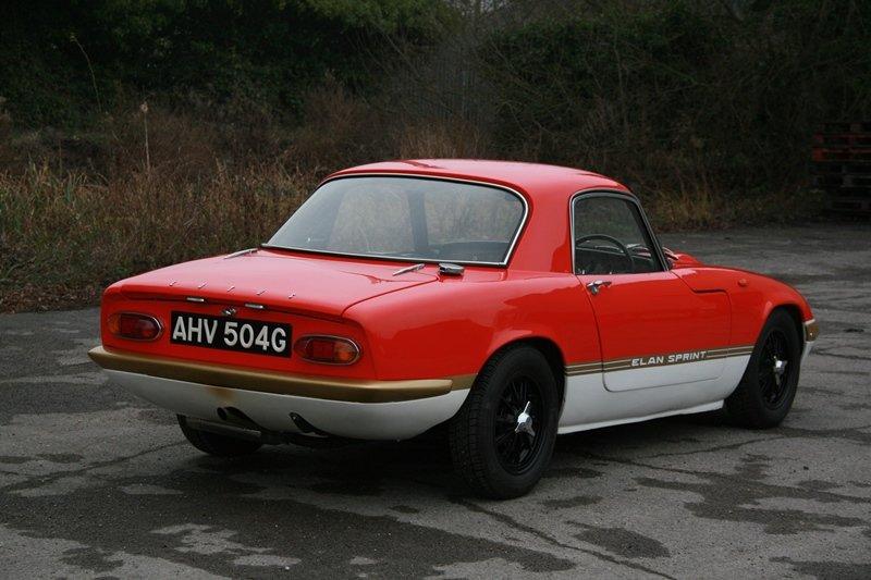 1969 Lotus Elan S3 FHC Deposit taken! SOLD (picture 3 of 6)