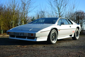1985 Lotus Esprit Turbo S3 For Sale by Auction