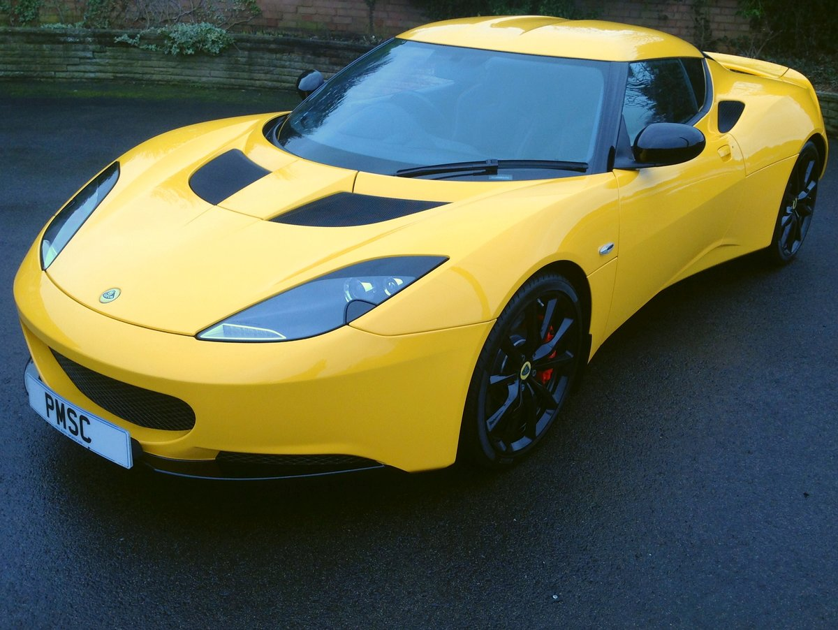 2014 Lotus Evora S Sports Racer 4 V6 For Sale (picture 1 of 5)