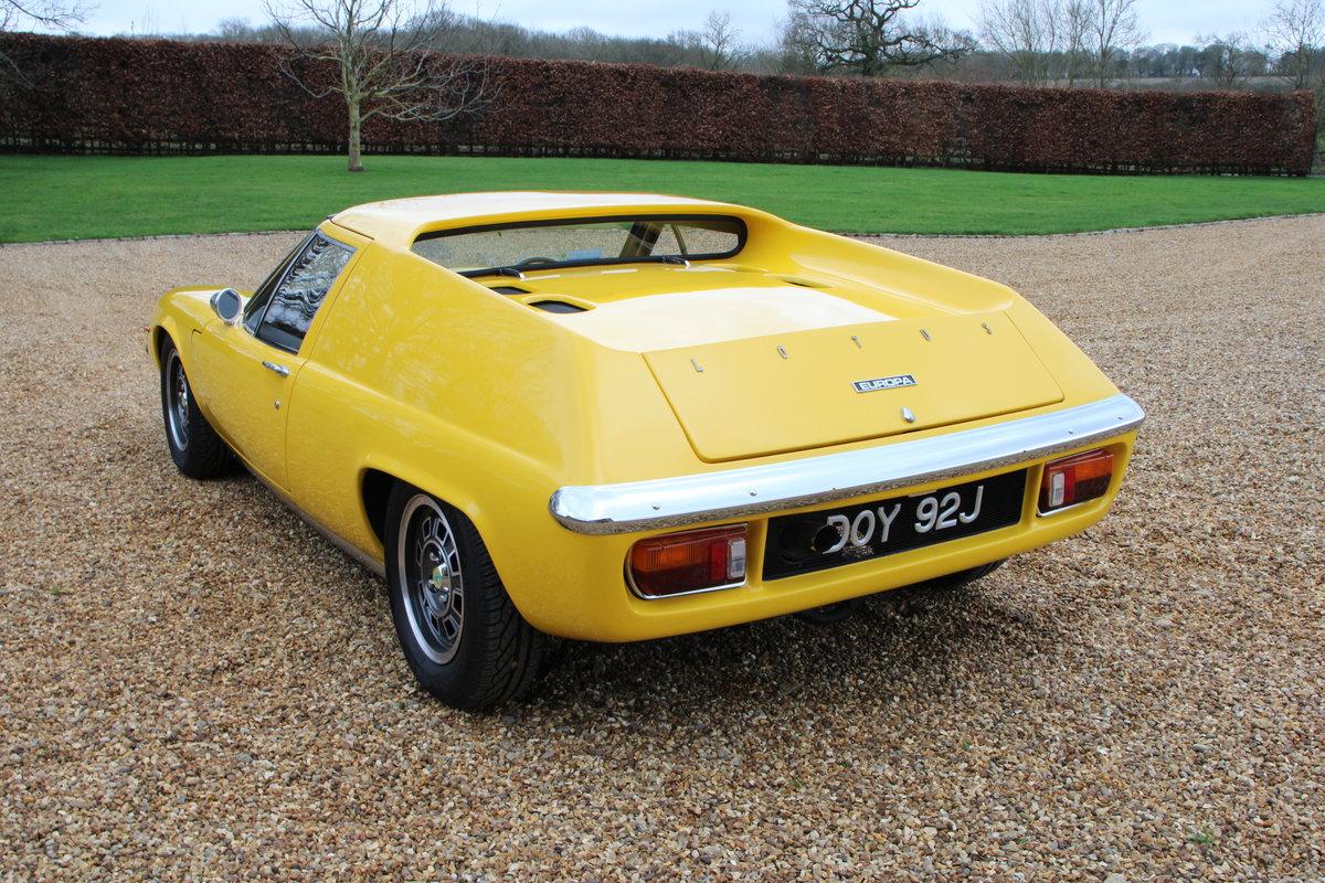 1970 LOTUS EUROPA S2 GORDINI SPEC For Sale (picture 3 of 20)