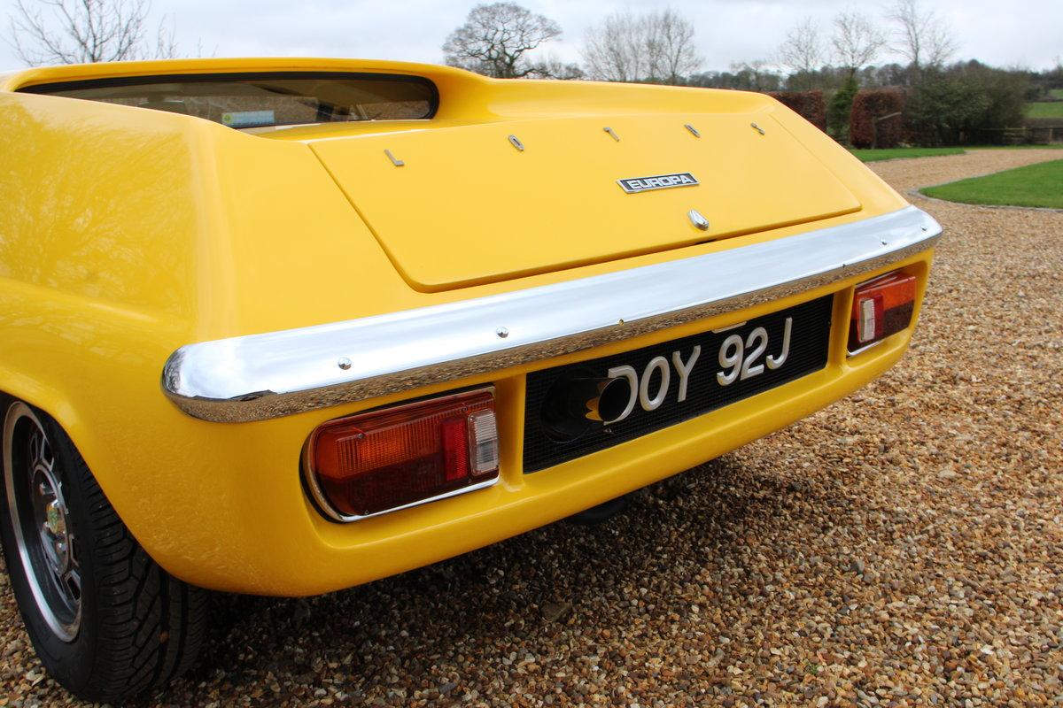 1970 LOTUS EUROPA S2 GORDINI SPEC For Sale (picture 8 of 20)