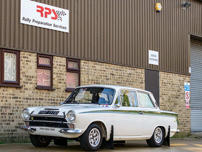 1966 Lotus Cortina Classic Rally Car  For Sale (picture 1 of 6)