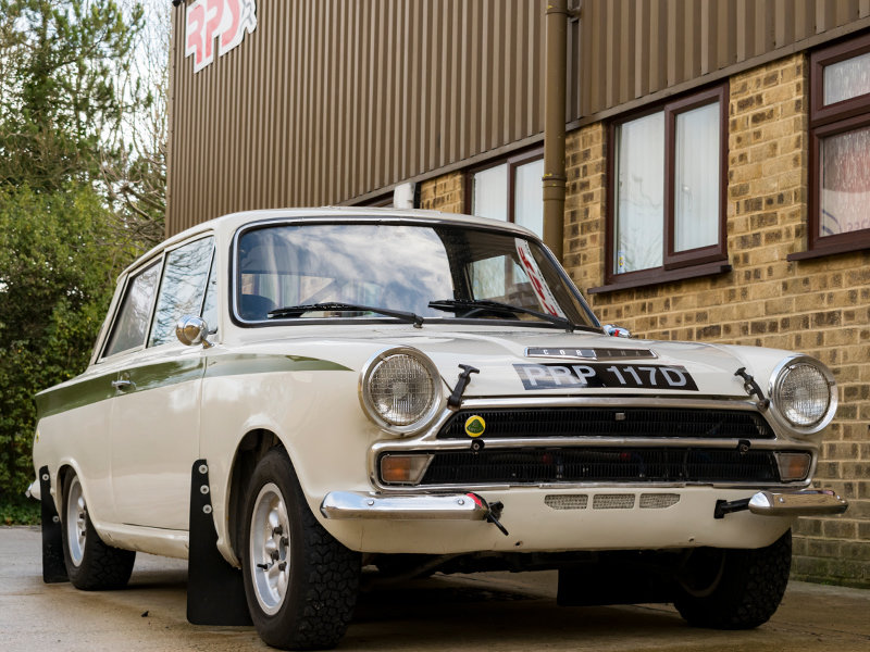 1966 Lotus Cortina Classic Rally Car  For Sale (picture 2 of 6)