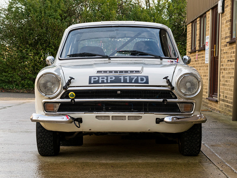 1966 Lotus Cortina Classic Rally Car  For Sale (picture 3 of 6)
