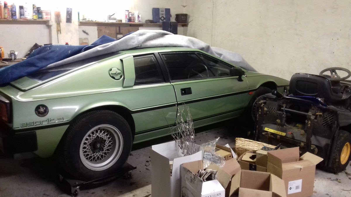 1983 Lotus Esprit S3 Rare Altaire Green  For Sale (picture 1 of 5)