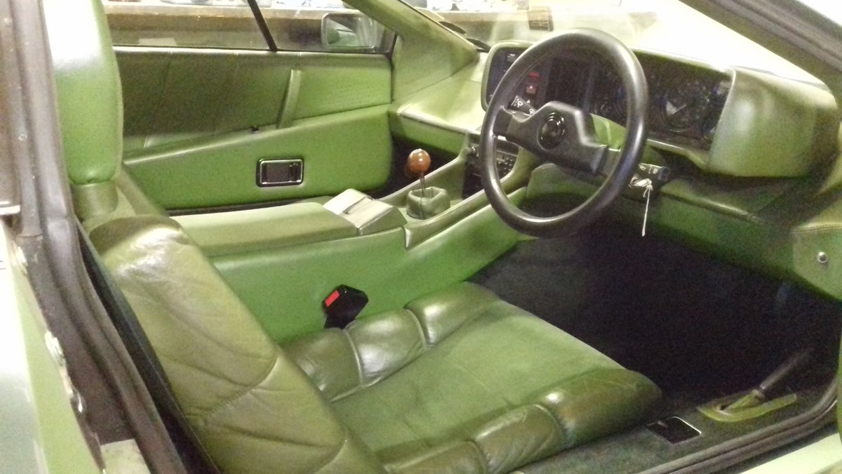 1983 Lotus Esprit S3 Rare Altaire Green  For Sale (picture 2 of 5)