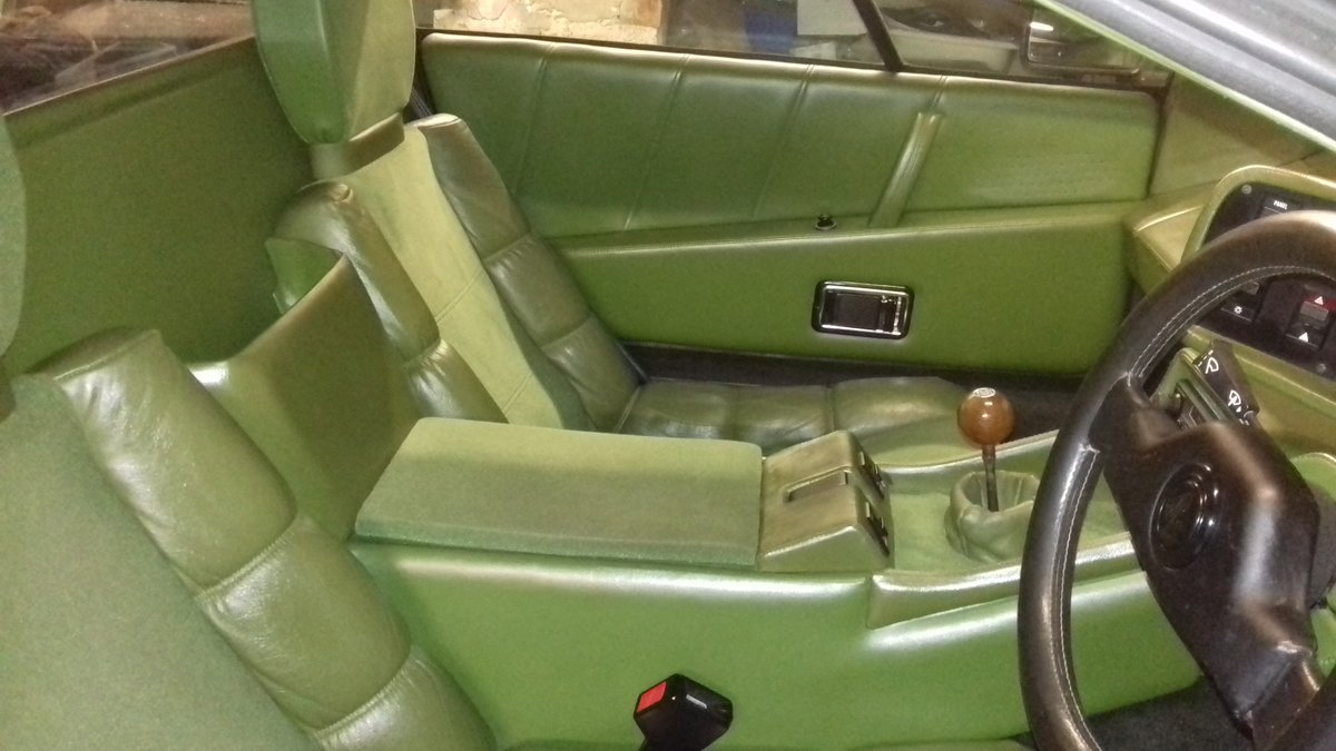 1983 Lotus Esprit S3 Rare Altaire Green  For Sale (picture 5 of 5)