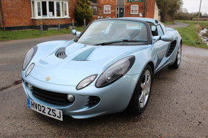 2002 ELISE SPORTS TOURER - ONE OWNER, IMPECCABLE SERVICE RECORD