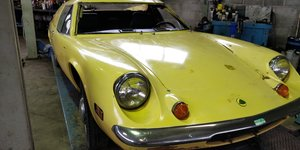 Lotus Europa '70 LHD for restauration