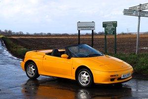 Lotus Elan SE Turbo, 1992. Norfolk Mustard / Raven leather