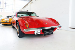 1973 Lots Elan +2, Red with nice history, orig. sales document For Sale