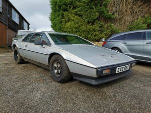 Lotus S2 1979 Barn Find, One Owner, 30k Miles! For Sale