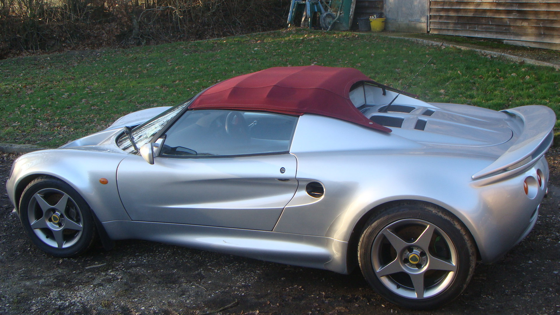 2000 Lotus Elise 160 Sport roadster For Sale (picture 4 of 6)