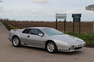 Lotus Esprit Turbo SE, 1990.  44,500 miles in Silver Frost.