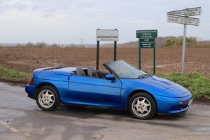 Lotus Elan SE Turbo, 1990.  Fantastic in Pacific Blue.