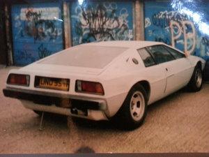 1976 LOTUS ESPRIT S1 - STOLEN HELP FIND..
