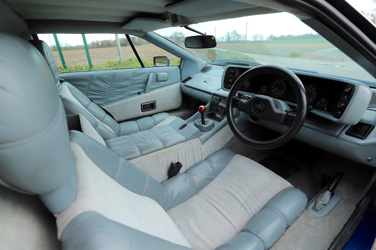 Lotus Esprit Turbo, 1986. Essex Blue metallic  For Sale (picture 4 of 6)