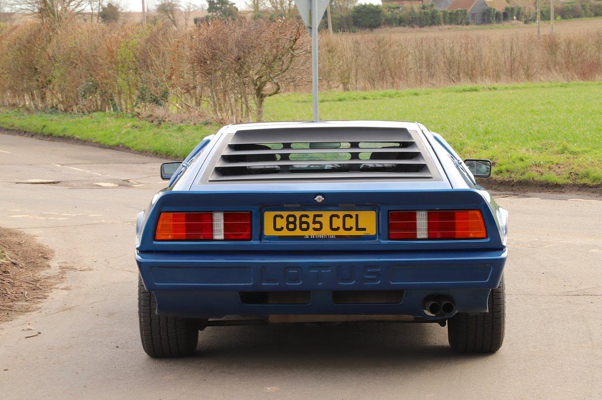 Lotus Esprit Turbo, 1986. Essex Blue metallic  For Sale (picture 6 of 6)