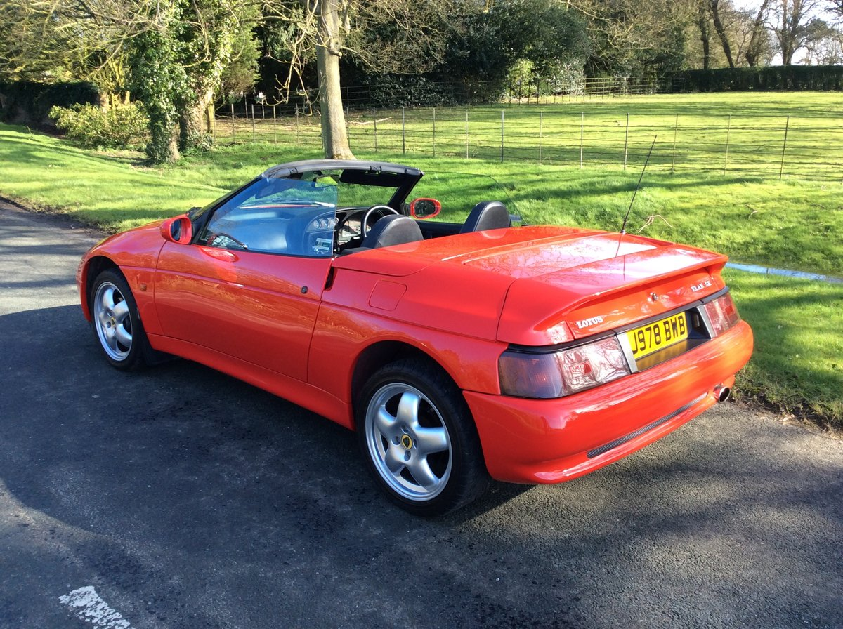 1992 Lotus elan se turbo (low mileage) For Sale (picture 4 of 6)