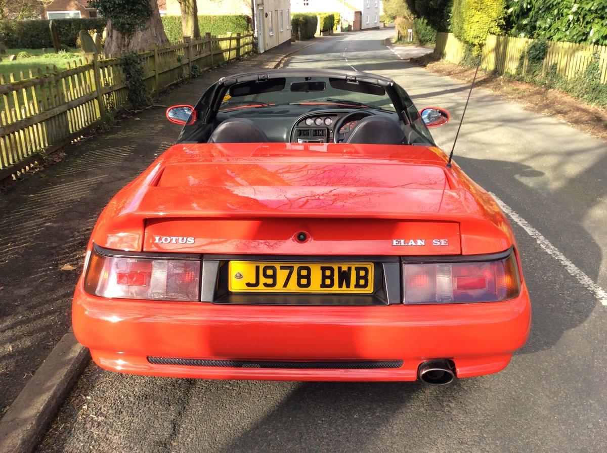 1992 Lotus elan se turbo (low mileage) For Sale (picture 5 of 6)