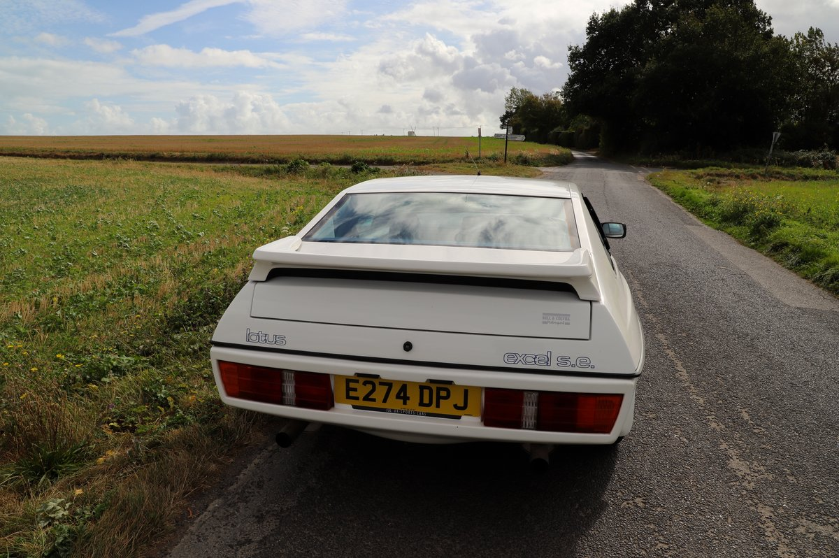 Lotus Excel SE, 1987. Superb example in Monaco White. For Sale (picture 2 of 6)