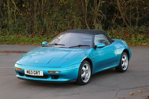 Lotus Elan SE Turbo, 1992. 26k miles. Last owner 22 years
