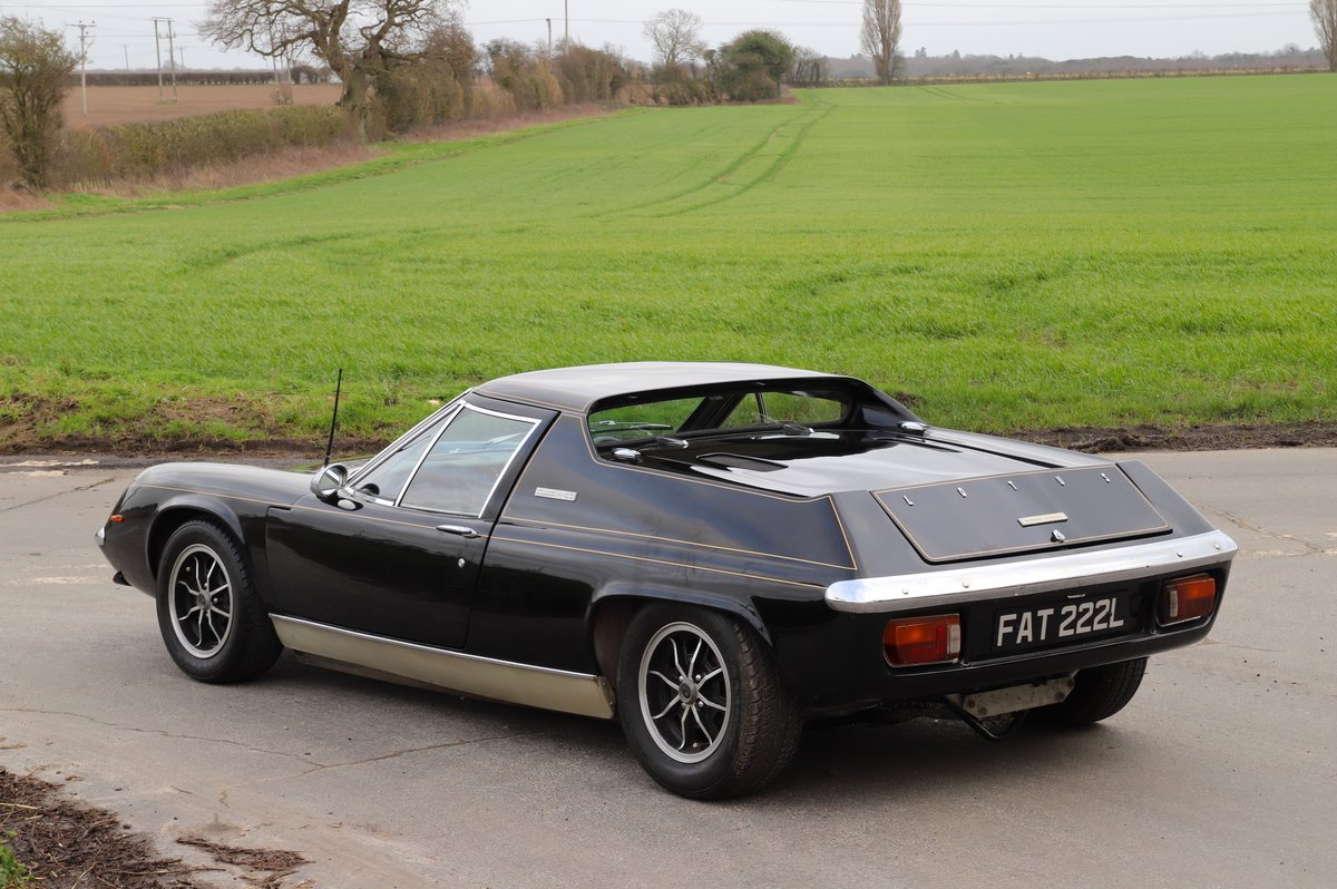Lotus Europa Twin-Cam Special JPS, 5 Speed Special, 1973. For Sale (picture 3 of 6)