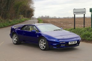 Picture of Lotus Esprit Twin-Turbo V8, 1997.   Azure Blue metallic. For Sale
