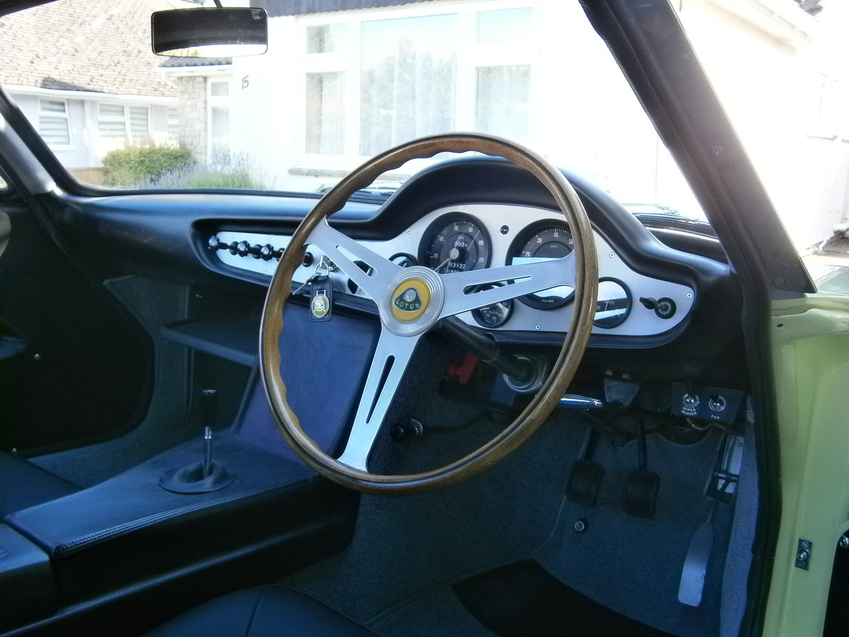 1962 LOTUS ELITE MK 14 CLIMAX SERIES 2 FULLY RESTORED ONE OWNER For Sale (picture 4 of 6)