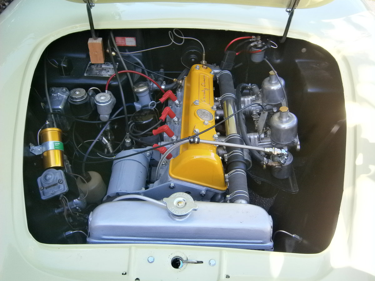 1962 LOTUS ELITE MK 14 CLIMAX SERIES 2 FULLY RESTORED ONE OWNER For Sale (picture 6 of 6)