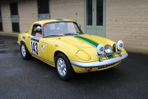 1966  LOTUS ELAN S3 HISTORIC RALLY – £39,950