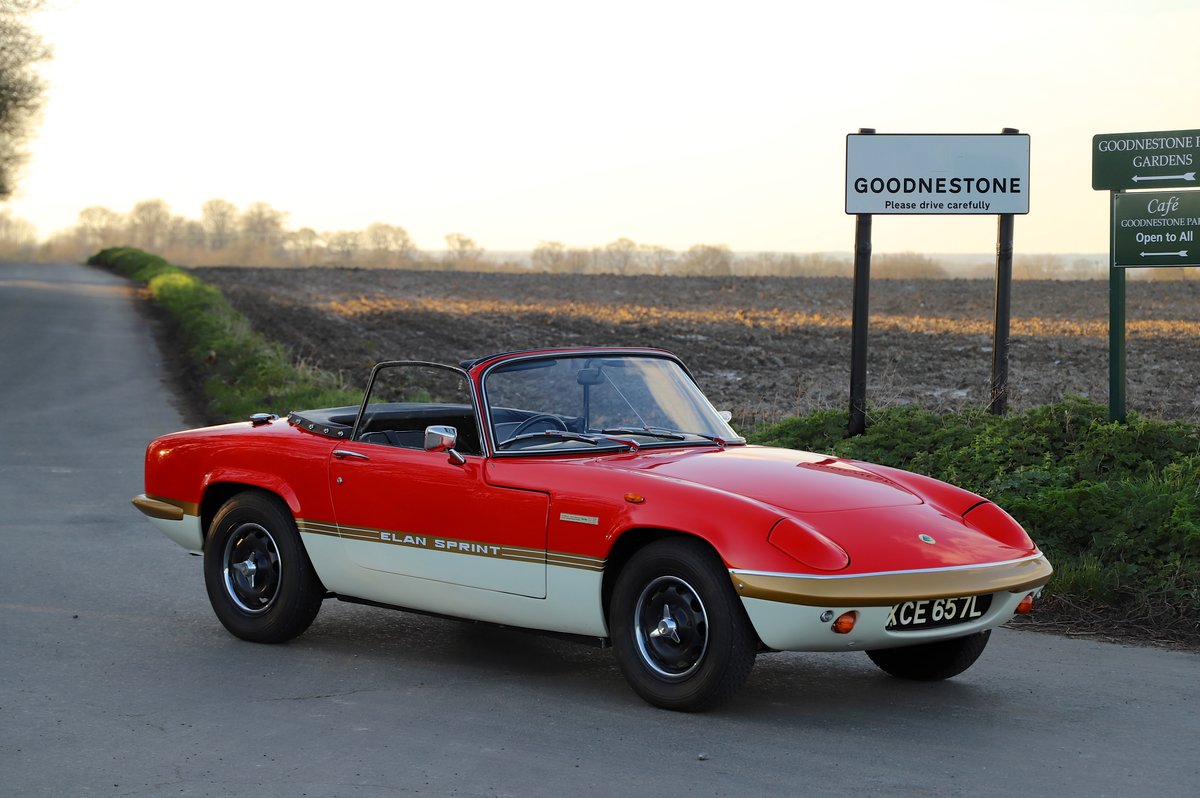 Lotus Elan Sprint DHC, 1973. 20th from last Sprint ever. For Sale (picture 1 of 6)
