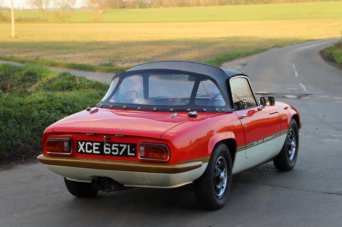 Lotus Elan Sprint DHC, 1973. 20th from last Sprint ever. For Sale (picture 2 of 6)