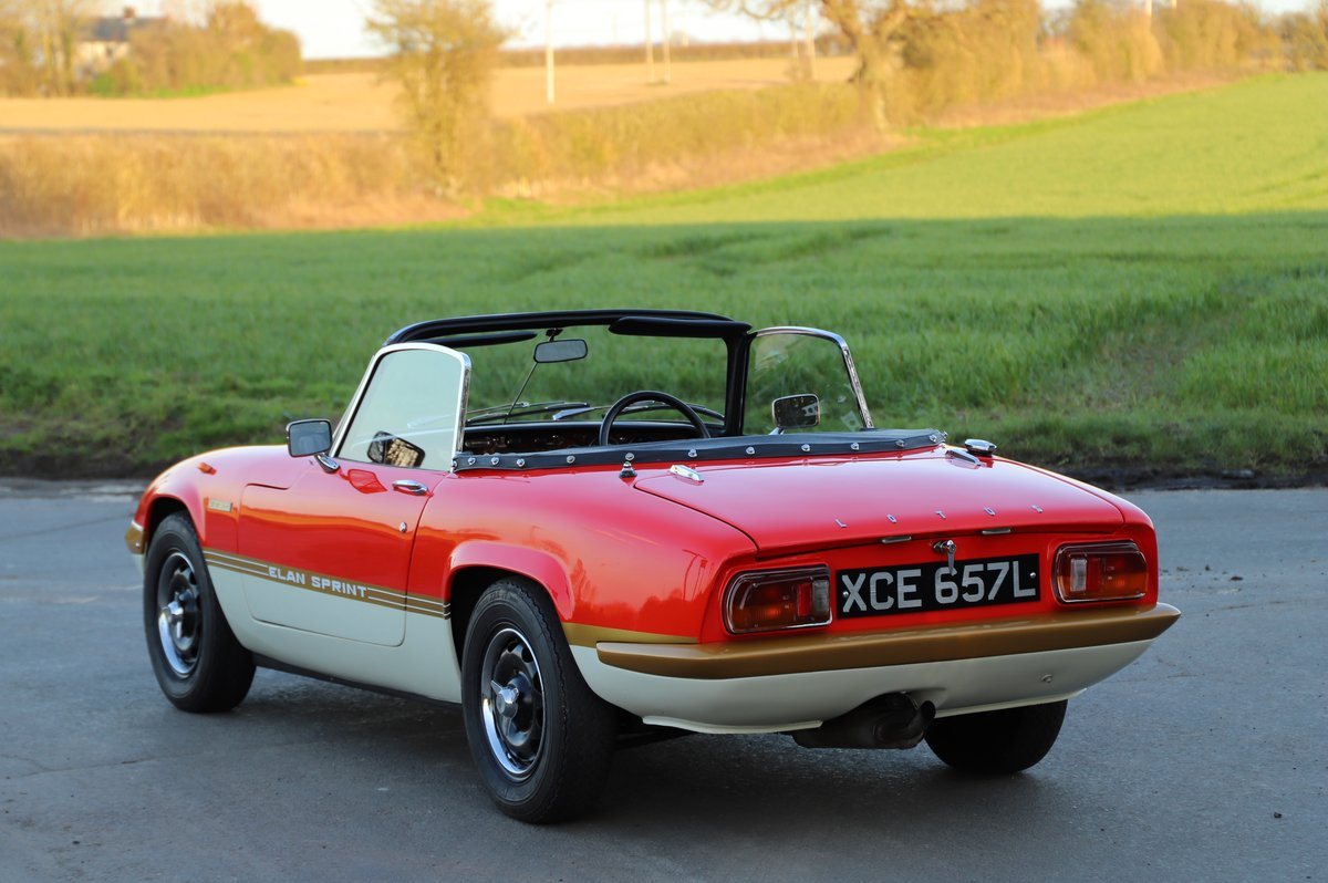 Lotus Elan Sprint DHC, 1973. 20th from last Sprint ever. For Sale (picture 3 of 6)