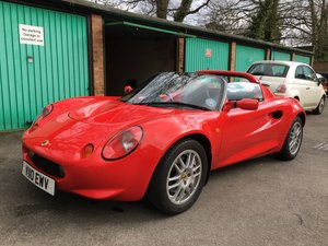1999 Elise S1 - Low mileage, standard specification.