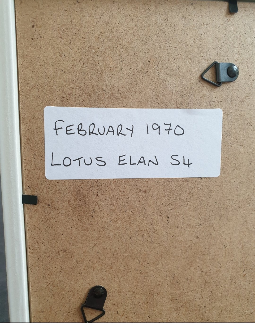 Original 1970 Lotus Elan S4 Framed Advert For Sale (picture 2 of 2)