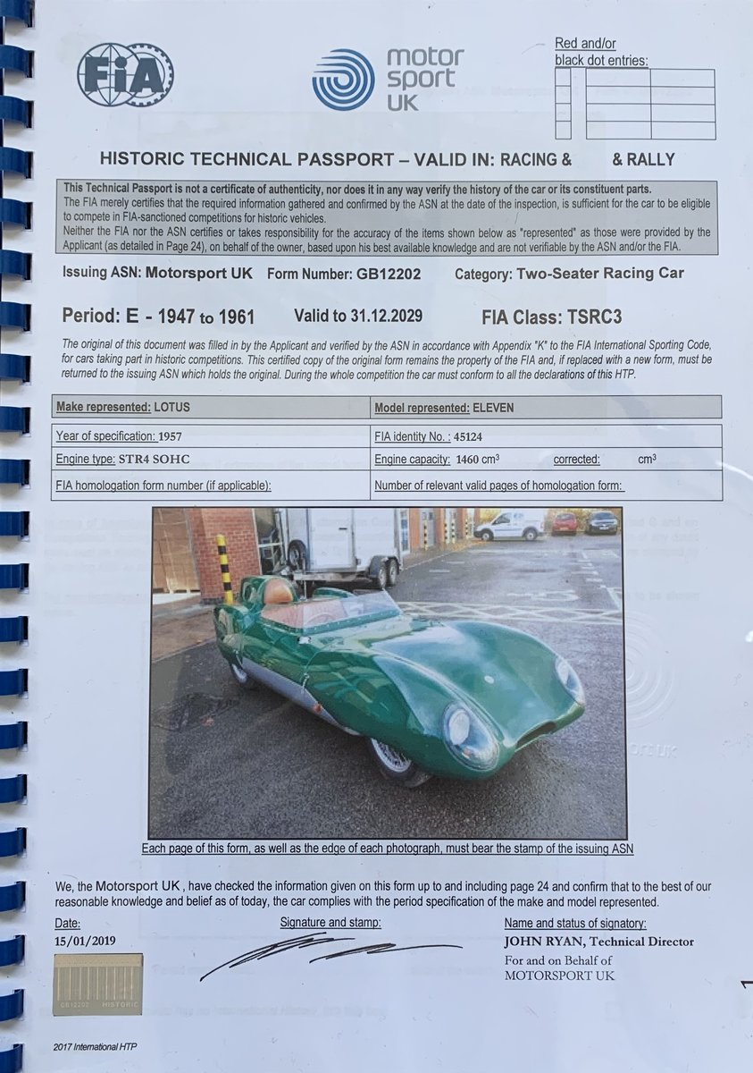 1957 LOTUS ELEVEN LEMANS For Sale (picture 6 of 6)