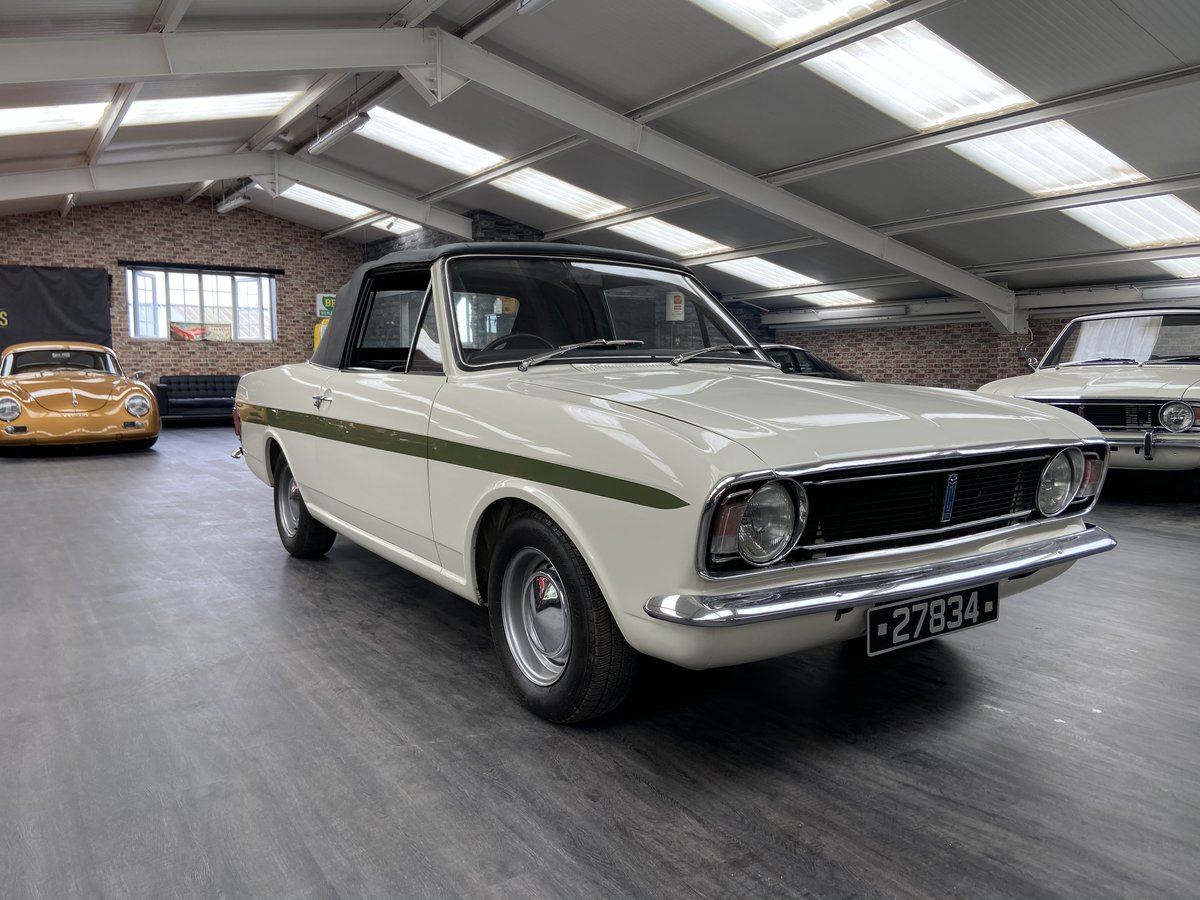 1971 Lotus cortina Crayford cabriolet For Sale (picture 1 of 6)